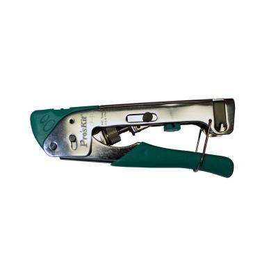 Adjustable Compression Coax Crimping Tool