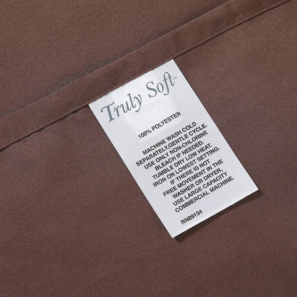 Truly Soft Everyday Brown Twin XL Sheet Set SS1658BRTX-4700 - The