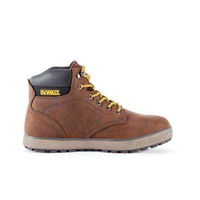 Plasma Men 6 in. Size 10.5(M) Brown Leather Steel Toe Work Boot