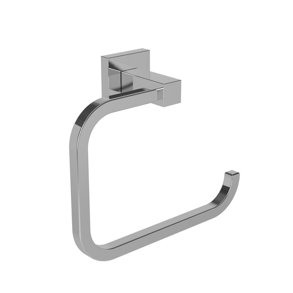 Prezlee Towel Ring in Polished Chrome