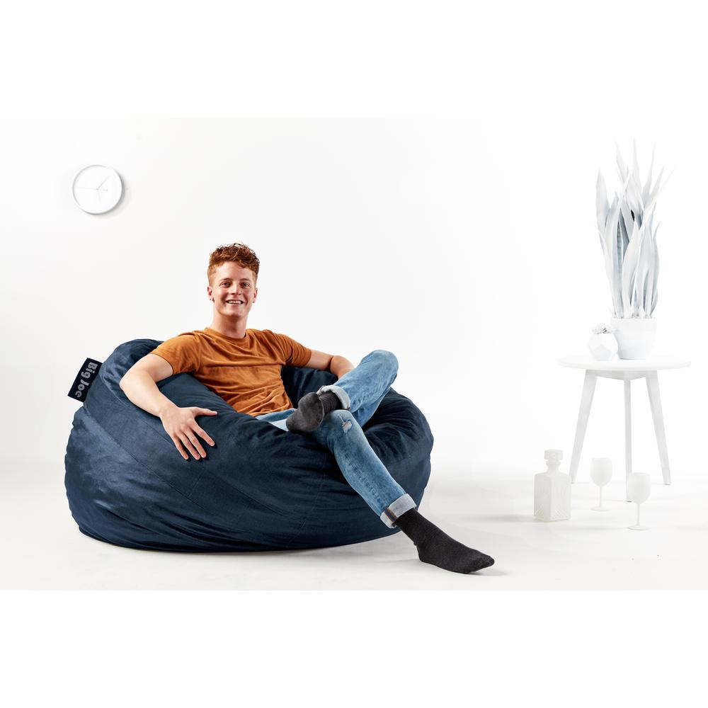 Miraculous Large Fuf Shredded Ahhsome Foam Cobalt Lenox Bean Bag Ncnpc Chair Design For Home Ncnpcorg