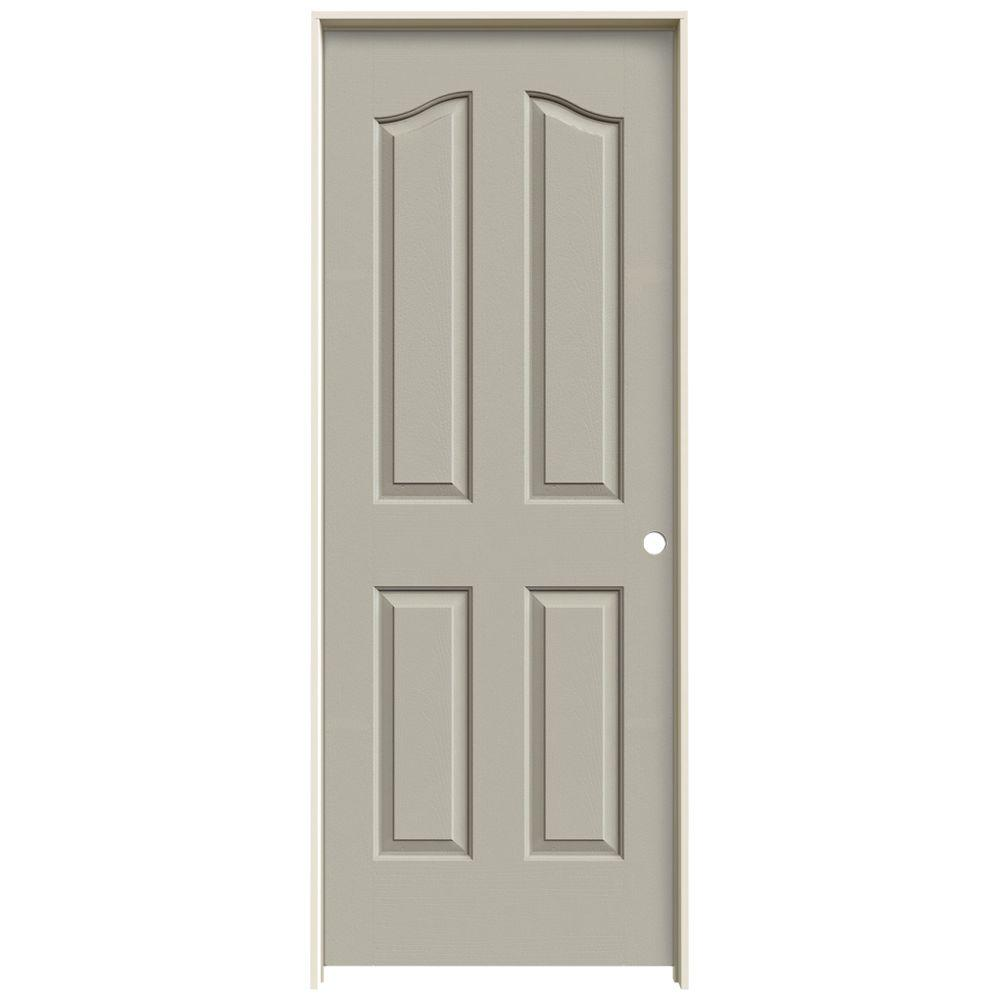 30 in. x 80 in. Provincial Desert Sand Painted Left-Hand Smooth