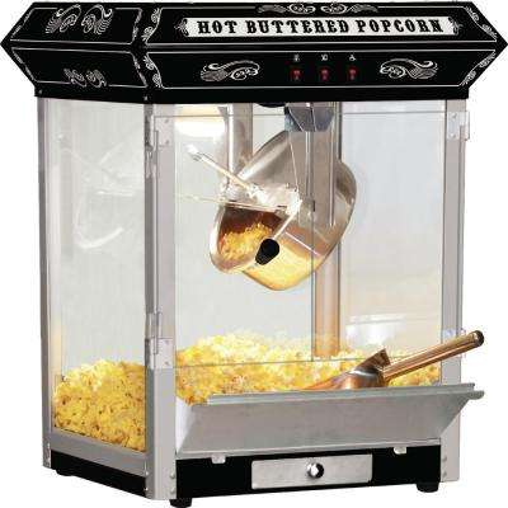 Carnival Style 8 oz. Popcorn Machine