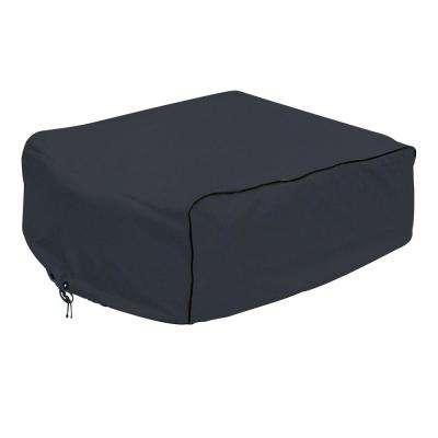 Overdrive 39 in. L x 27 in. W x 14.5 in. H RV Air Conditioner Cover Black Atwood