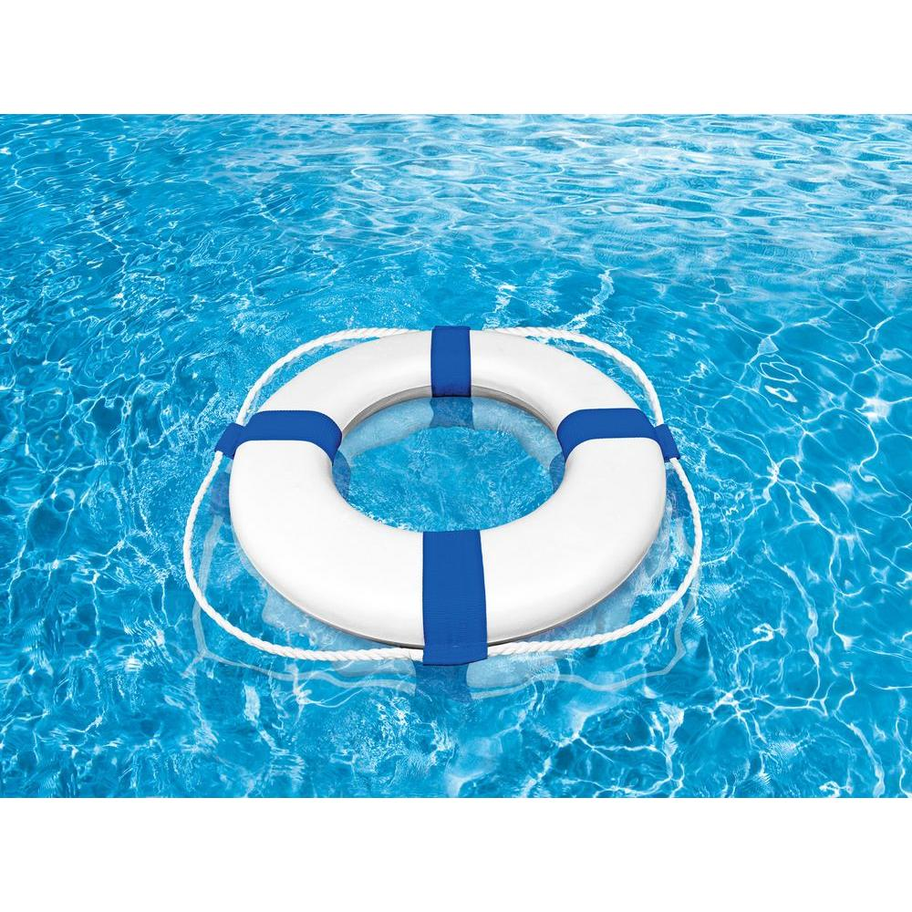 Poolmaster 24 In Foam Ring Buoys 55554 The Home Depot