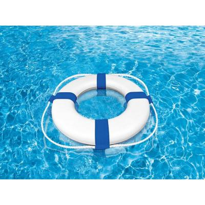 24 in. Foam Swimming Pool Ring Buoy