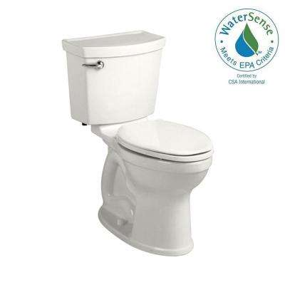 Champion 4 HET Tall Height 2-piece 1.28 GPF High-Efficiency Round Toilet in White