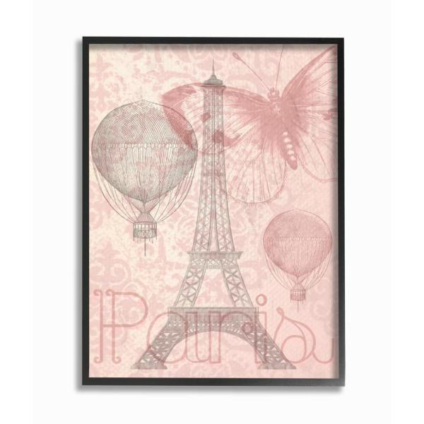 The Stupell Home Decor Collection 11 In X 14 In Eiffel Tower Hot