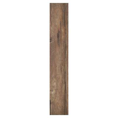 Sterling 1.2 Saddle 6 in. x 36 in. Peel and Stick Vinyl Plank Flooring (15 sq. ft. / case)