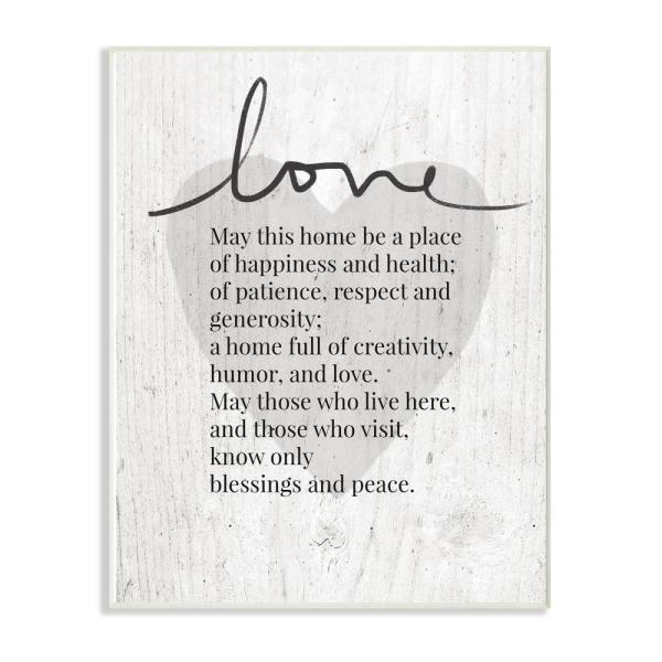 The Stupell Home Decor Collection Family Together in Heart Wall Plaque Art Multicolor 10x15