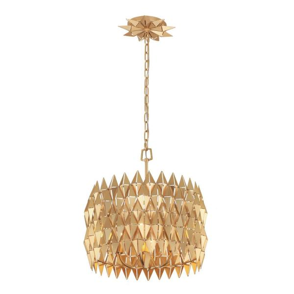 Forever 4-Light French Gold Standard Pendant