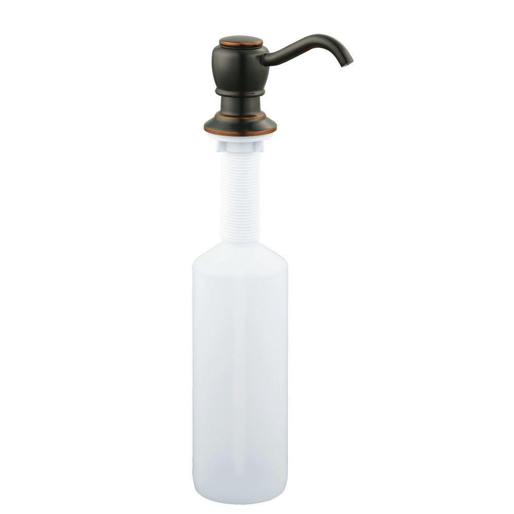 Design House Soap Dispenser in Oil Rubbed Bronze