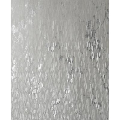 Theia Blossom Silver Removable Wallpaper