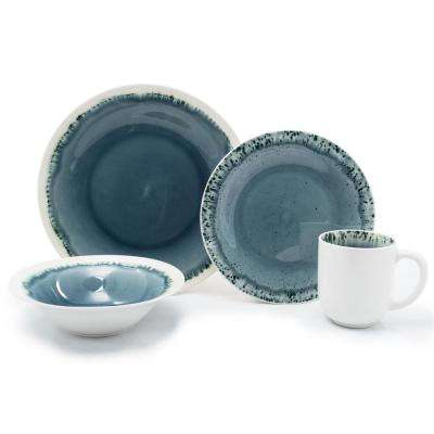 16-Piece Ocean Blue Paola Dinnerware Set