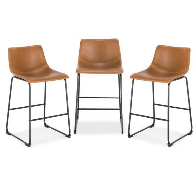 Brinley Tan Counter Stool (Set of 3)