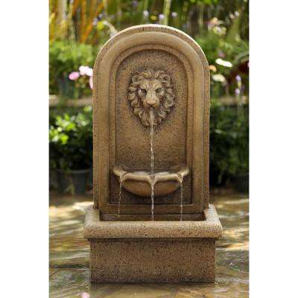 Classic Lion Head Wall Water Fountain