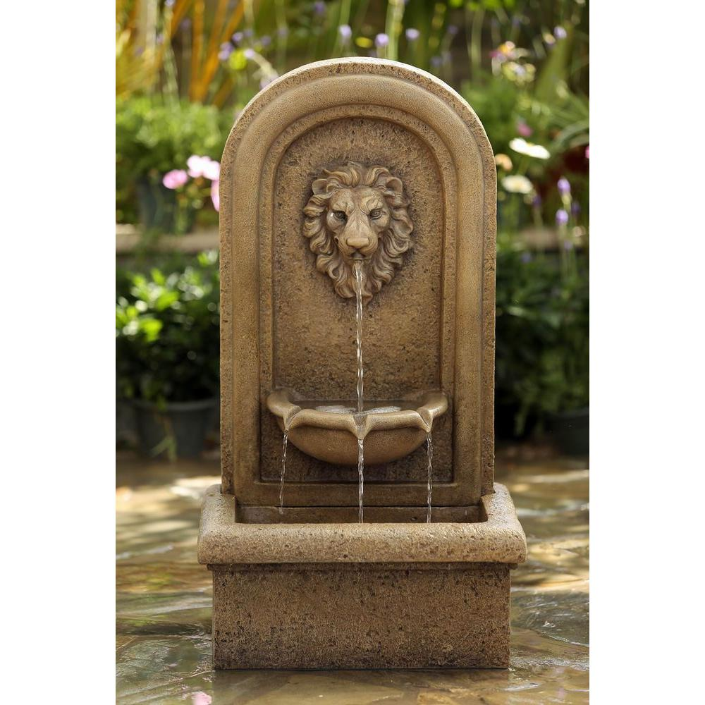 Jeco Classic Lion Head Wall Water Fountain Fcl123 The