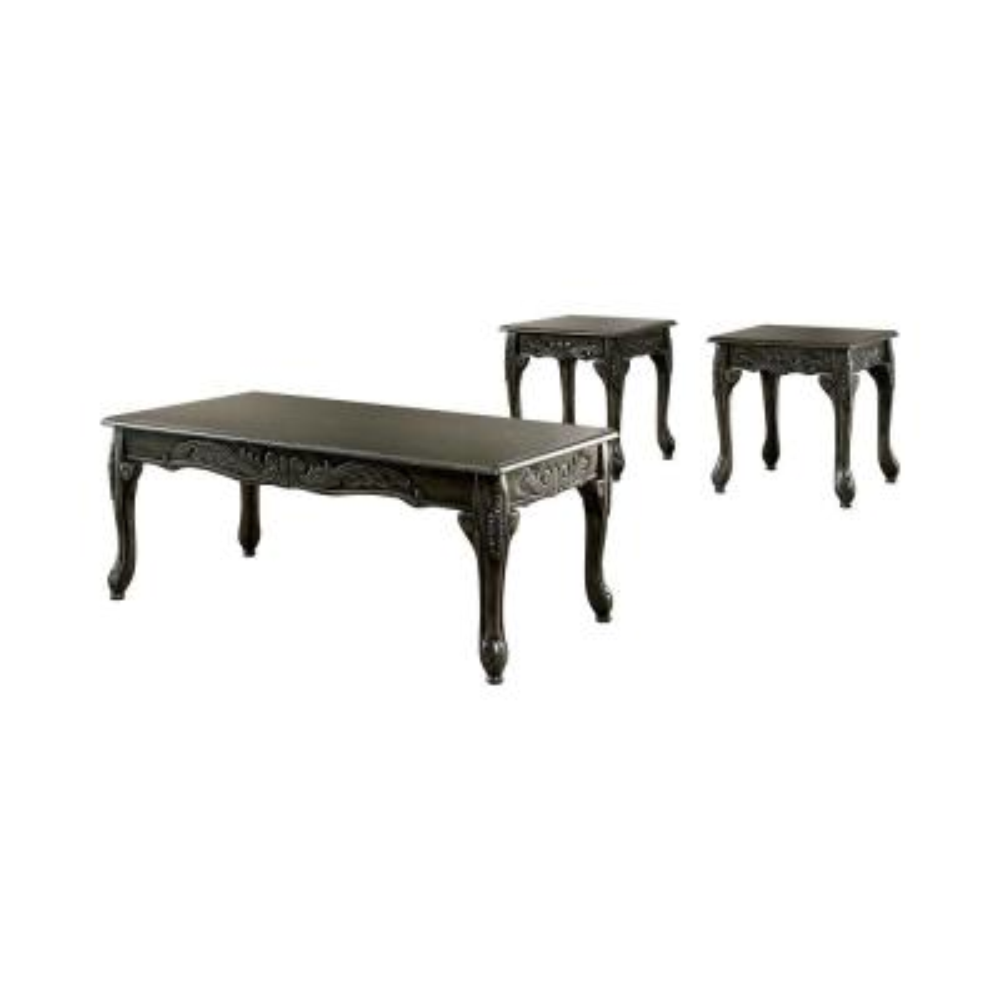 Bransonville Gray 3-Piece Coffee Table Set
