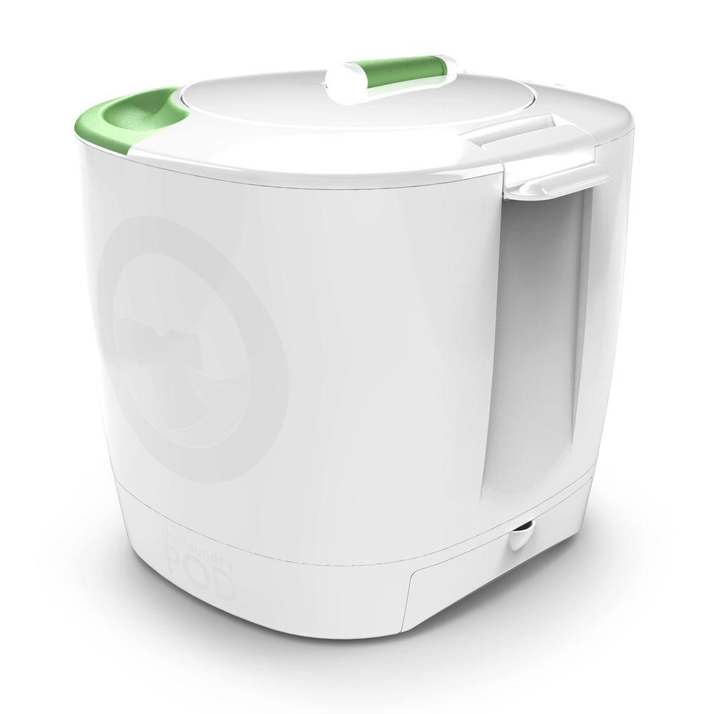 The Laundry Pod 6 l Non-Electric Washing Machine in White