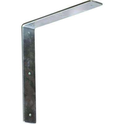 12 in. x 2 in. x 12 in. Steel Unfinished Metal Hamilton Bracket