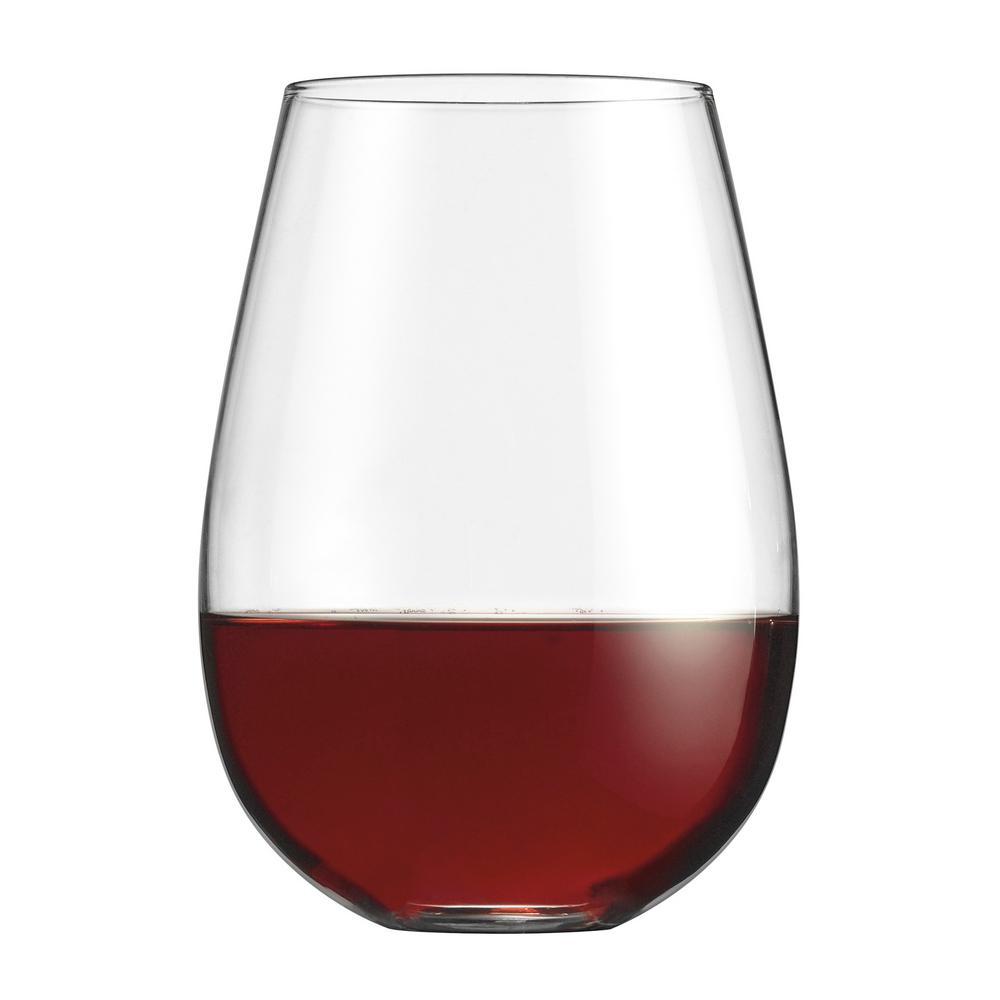 cuisinart stemless red wine glasses set of 4 cg s4r the home depot. Black Bedroom Furniture Sets. Home Design Ideas