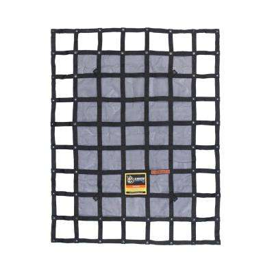 4.75 ft. x 6 ft. Small Heavy-Duty Adjustable Cargo Net Hardware Included
