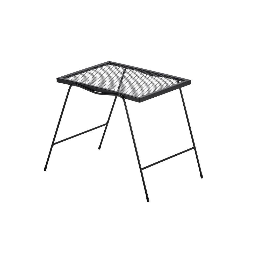 hampton bay nantucket metal outdoor accent table