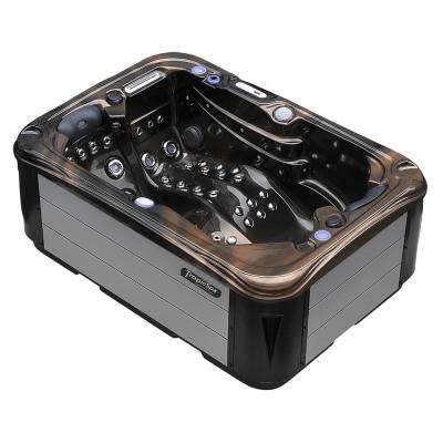 Hurricane 2-Person 58-Jet Spa with LED Lights, Bluetooth and Wi-Fi