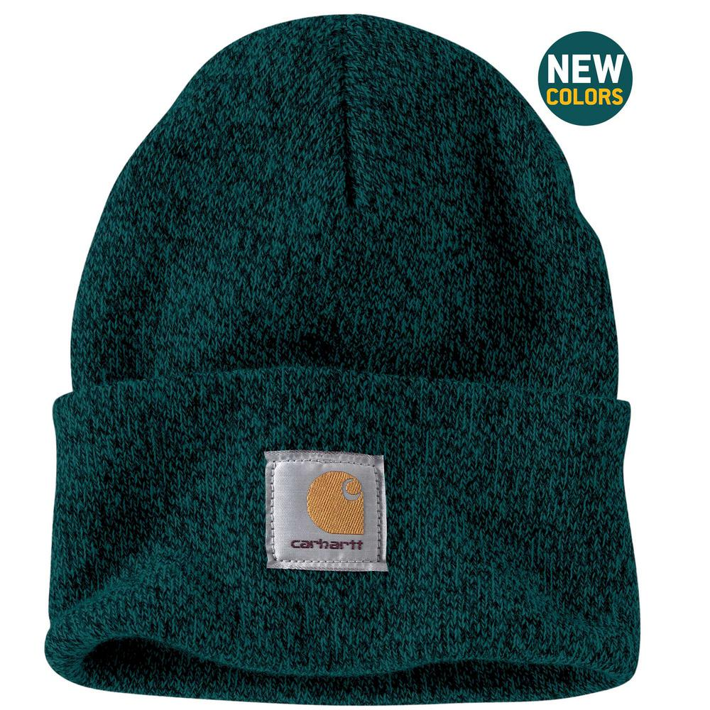 Carhartt Men s OFA Hunter Green Acrylic Watch Hat-A18-303 - The Home ... 47e931cd62d3