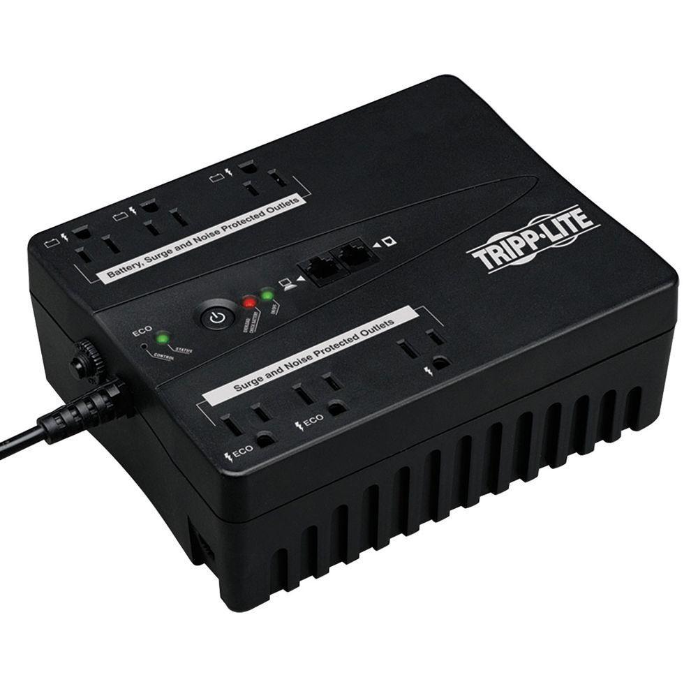 120-Volt 6-Outlet UPS Eco Green Battery Back Up Compact USB RJ11