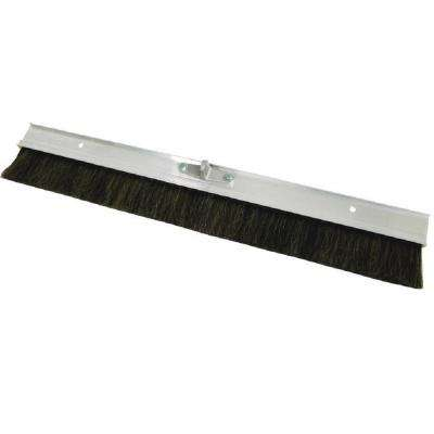 24 in. Horsehair concrete finishing broom
