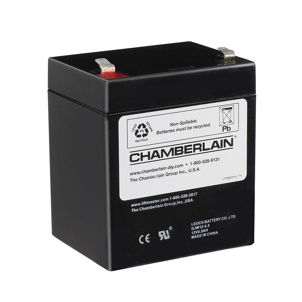 Chamberlain Garage Door Opener Battery Replacement 4228 The Home Depot