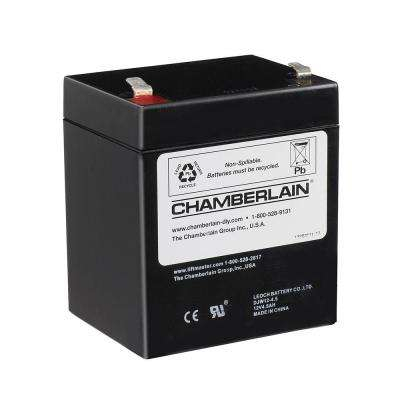 Chamberlain Garage Door Opener Battery Replacement