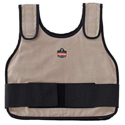 Chill-Its L/XL Khaki Phase Change Standard Cooling Vest