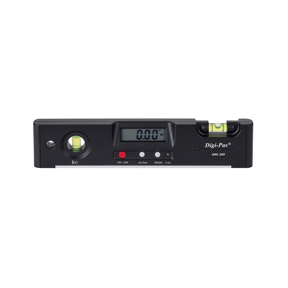 7 in. Electronic Torpedo Level with Protractor Angle Gauge Angle Finder