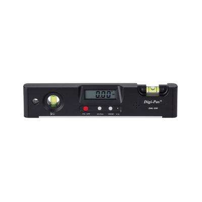7 in. Electronic Torpedo Level with Protractor Angle Gauge Angle Finder Bevel Gauge Magnet 0.1