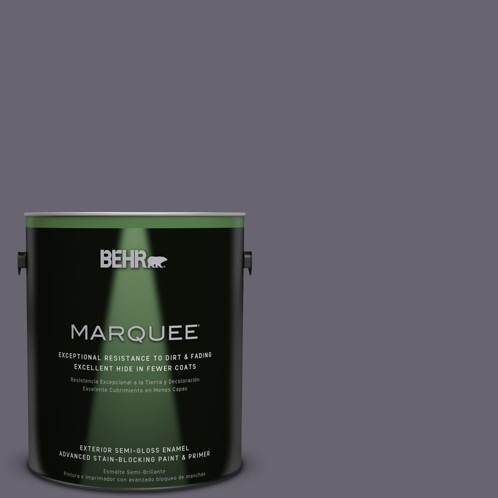 BEHR MARQUEE 1-gal. #N550-6 Alter Ego Semi-Gloss Enamel Exterior Paint