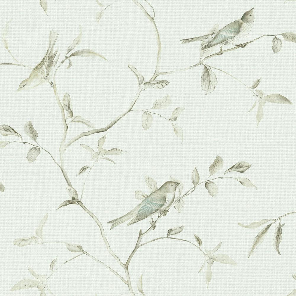 Patina Vie Birds of a Feather Wallpaper
