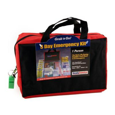 1-Person 3-Day Emergency Kit with Tote