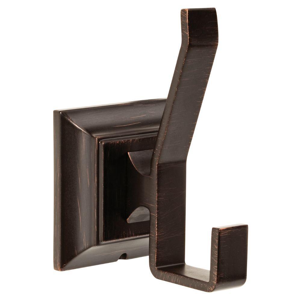 Franklin Brass Lynwood Double Towel Hook in Venetian Bronze