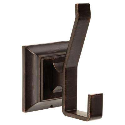 Lynwood Double Towel Hook in Venetian Bronze