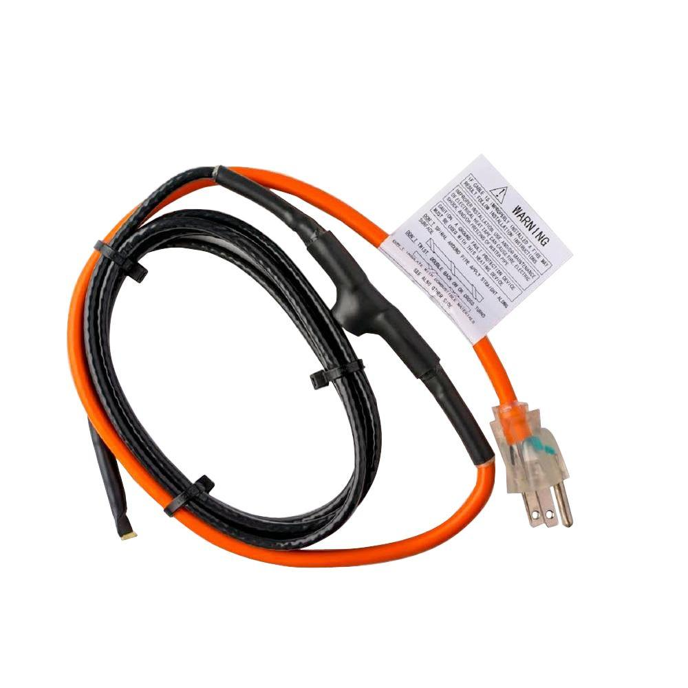 Heating Cord For Pipes : M d building products ft pipe heating cable with