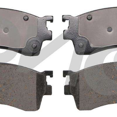 Front OE Disc Brake Pad Set fits 1993 Mazda 626,MX-6