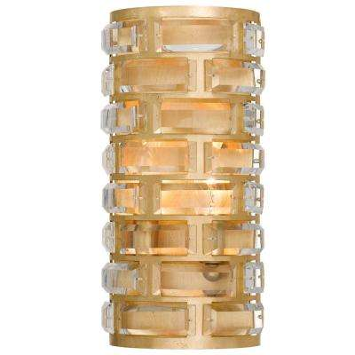 Meridian 4-Light Antique Gold Sconce
