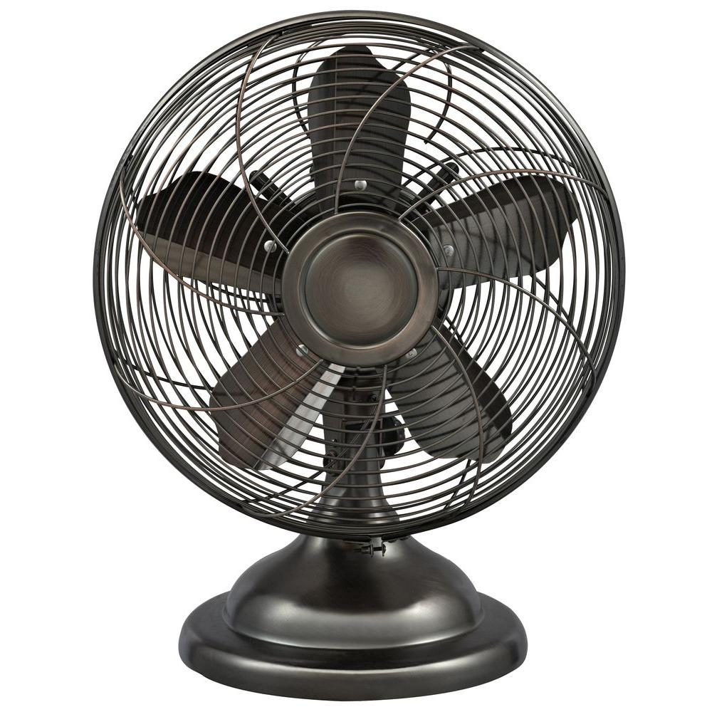 Oscillating Antique Personal Table Fan - Optimus 12 In. Oscillating Antique Personal Table Fan-F6212 - The