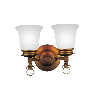Reese 2-Light Champagne Sconce