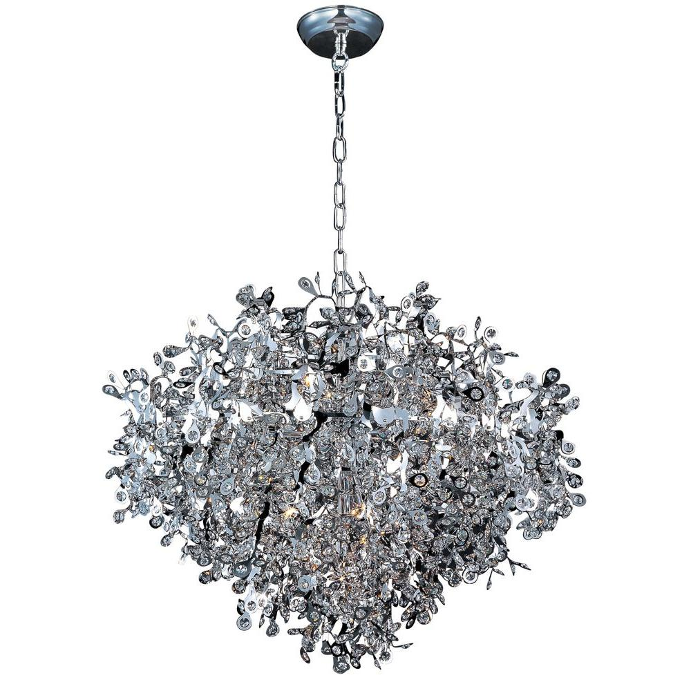 Maxim Lighting Comet 13 Light Polished Chrome Single Pendant