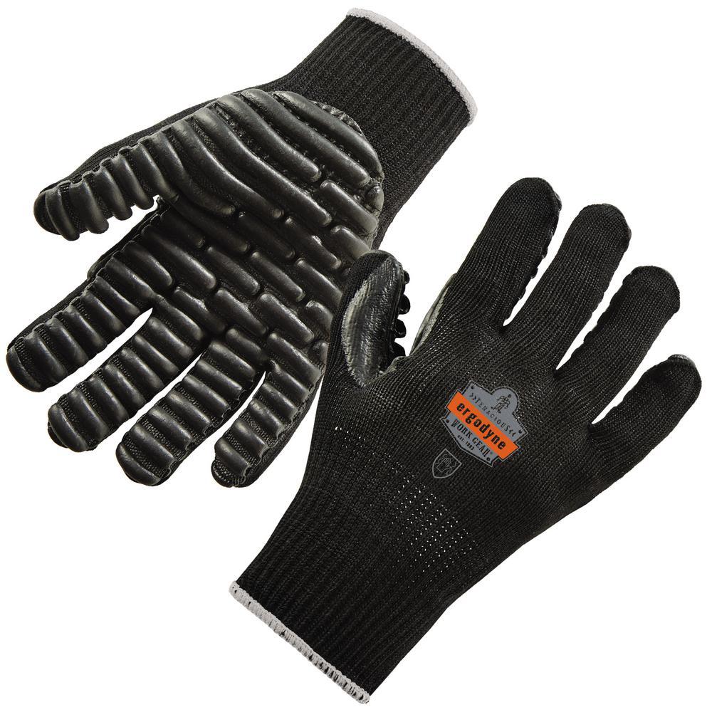 ProFlex Medium Black Certified Lightweight Anti-Vibration Gloves