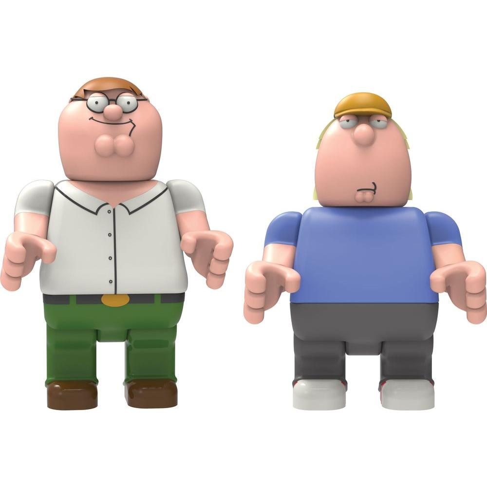 K'NEX Peter and Chris Griffin Buildable Figures