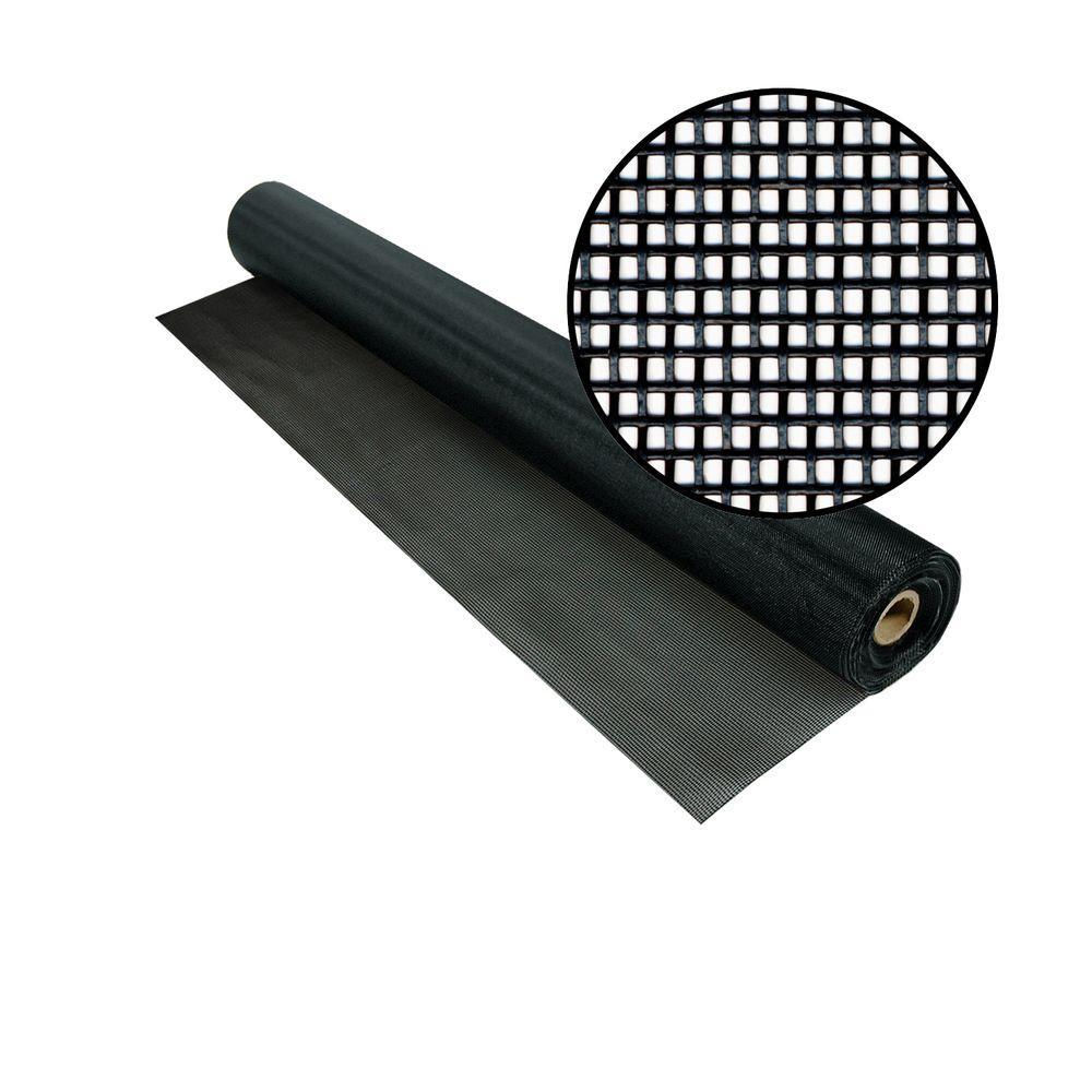 Phifer 48 in. x 50 ft. Black TuffScreen
